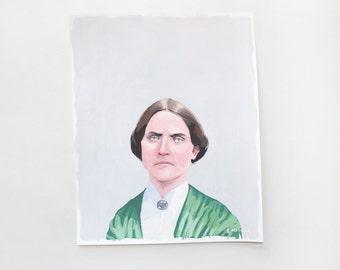 "8x10"" painting - ""Susan B. Anthony"""