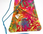 Batik Triangle Shoulder Purse