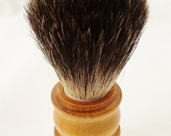 Shaving Brush in Badger and wet shave has a best friend