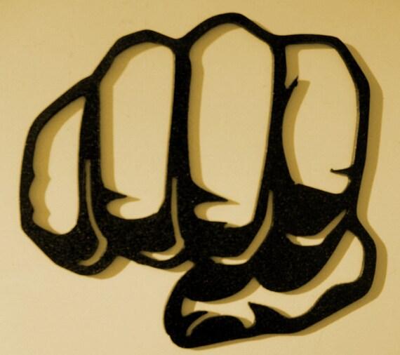 Fist Bump, Knuckles ,Hand Shake, Business, Metal art