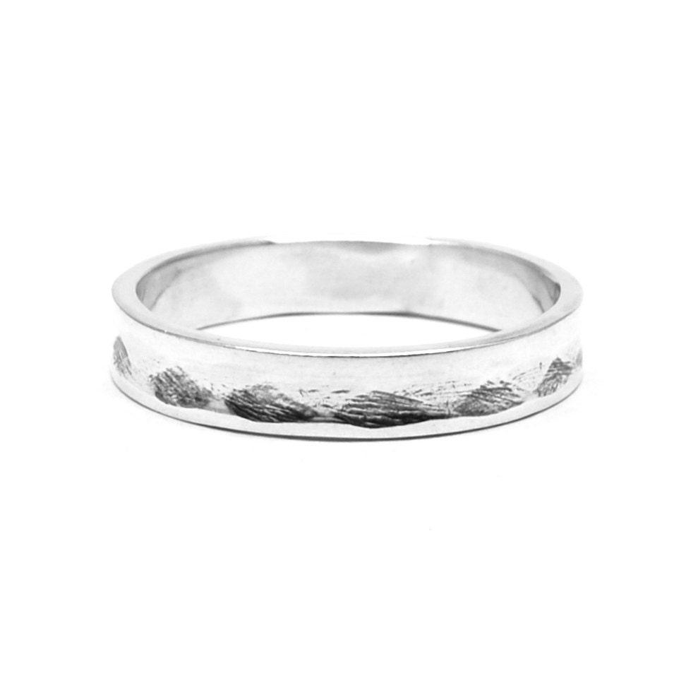 Entwined Sterling Silver Ring Alternative Wedding Rings