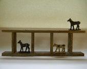 SHELF, Vintage Recycled Wood Shelf