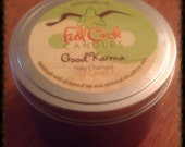 Nag Champa Scented Soy Wax Candle - 8oz Tin Scented Candle