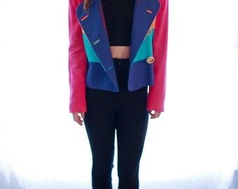 Color Block Blazer