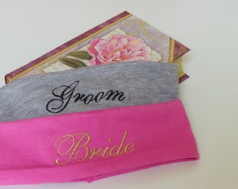 Gift For Jogger, Embroidered Headband, 2 PCS, Keepsake GIFT BOX
