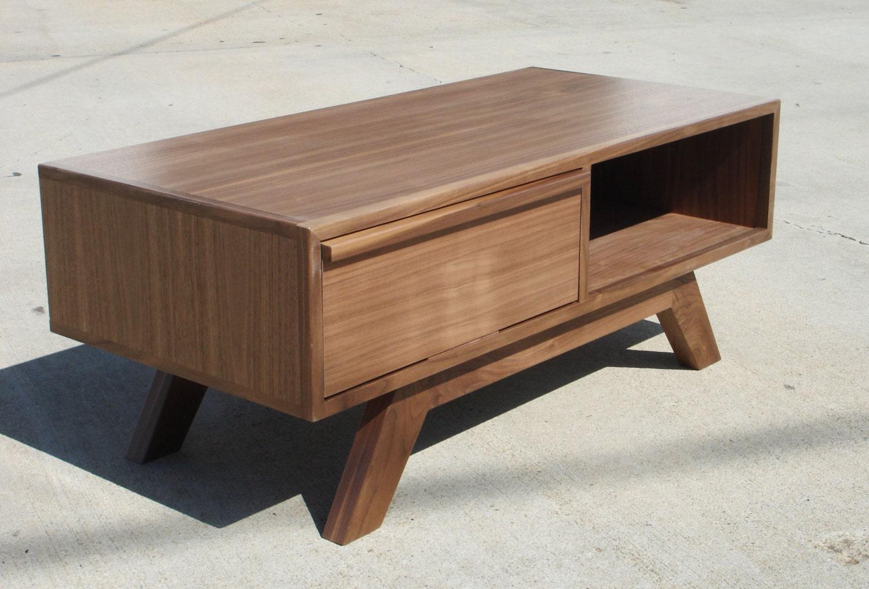mid century modern tv console credenza tv stand by pmistudios. Black Bedroom Furniture Sets. Home Design Ideas