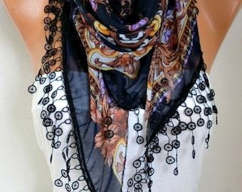 Cotton Scarf Shawl Necklace Cowl Gift Ideas For Her Women Fashion Accessories,women scarves