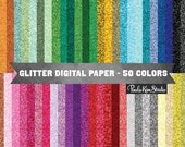 Glitter Digital Paper, Glitter Backgrounds, Commercial Use, Instant Download, Digital Papers