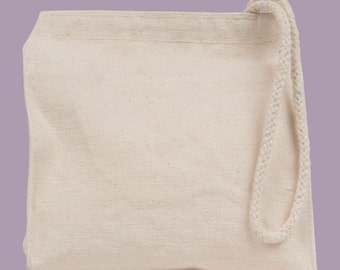 Your Image or Ours Custom Canvas Wristlet / Mini Tote / Clutch / Wedding / Bridal