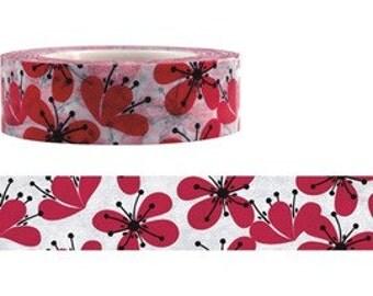 Flower Washi Masking Tape (15M)