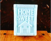 Soap: Home Sweet Home Decorative Guest Soap Bar, Great Housewarming Gift, Realtor Gift. You Choose Color & Scent