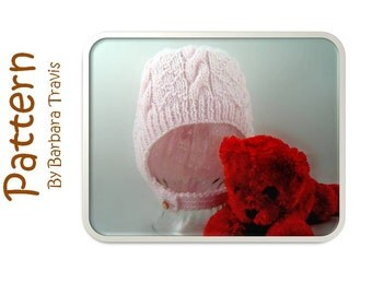 Knitting Pattern Child's Hood Cable Aran BH1001