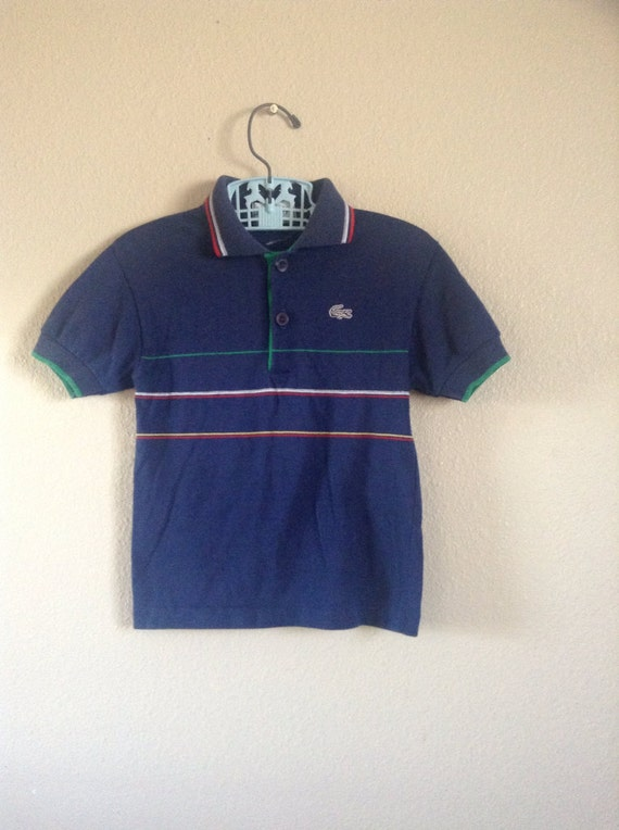 vintage izod lacoste polo shirt 3t by twinkletotsvintage