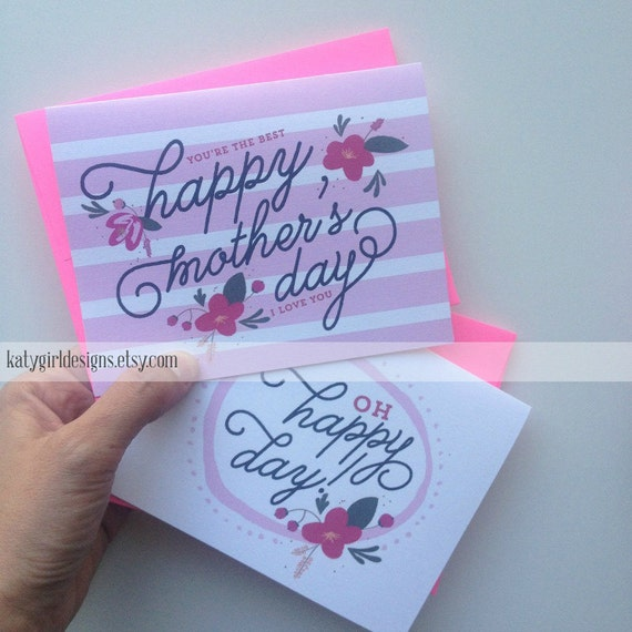 Mother's Day Card Set of 2