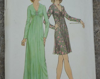 70's Glamour Gown or Dress Pattern- 12