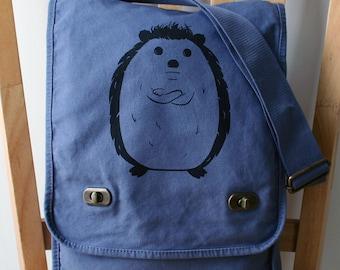 Disgruntled Hedgehog Field Bag