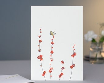 Butterfly & Blossom Card