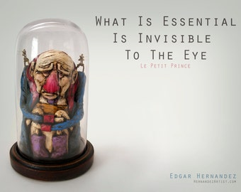 What Is Essential Is Invisible To The Eye