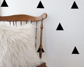 Vinyl Triangle Wall Decal