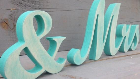 tiffany blue wedding sign