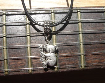 Koala Bear on Branch Necklace