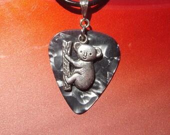 Koala Guitar Pick Necklace