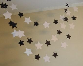 Birthday decorations / Star Garlands / Classroom Decorations / 10ft Paper Stars/ Birthday Decorations/ Graduation Decorations / Photo Prop