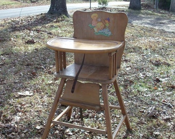 High Chair Mid Century Find Vintage Nursery REDUCED Spring Cleaning Price Includes Shipping To Most