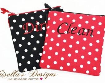 Wet Bag, Reusable Dirty Bag or Clean Bag, feminine hygiene bag, Listing is for one bag.