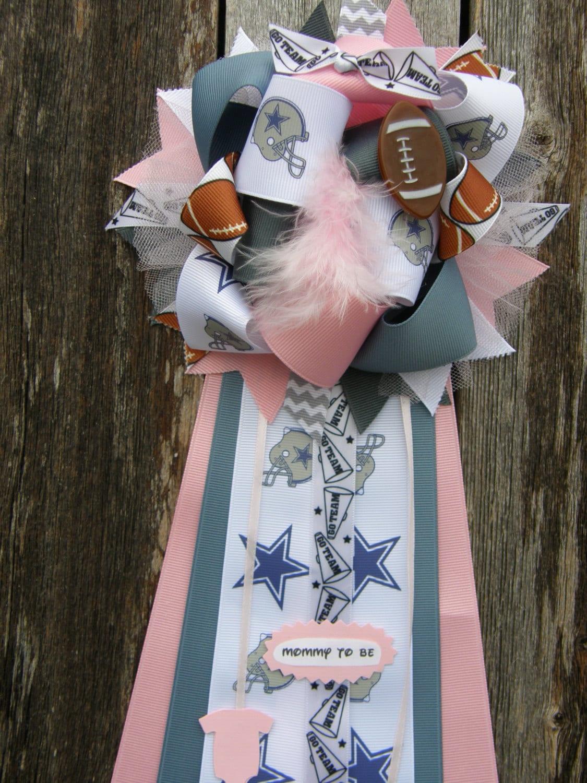 Dallas Cowboys Baby Shower Mum