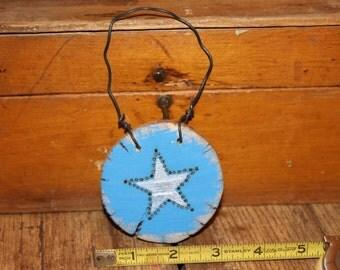 shabby chic handmade Christmas oranament