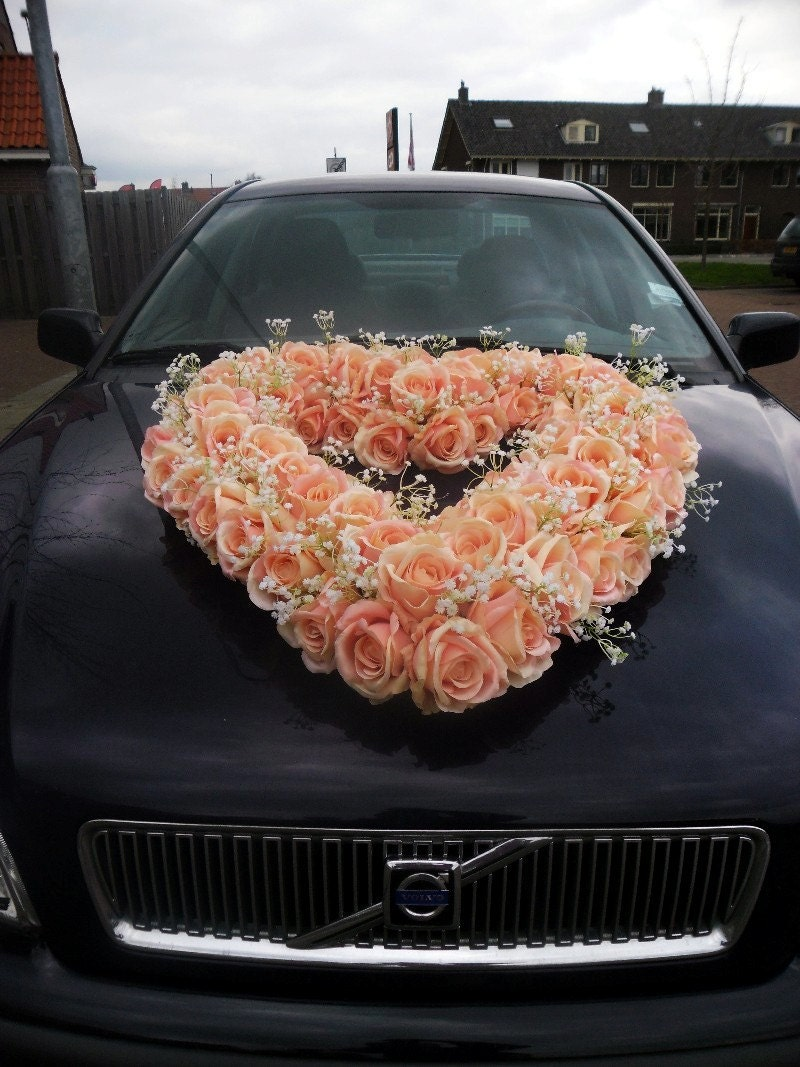 Wedding Car Decorate Car Decoration Etsy