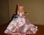 Nancy Ann Story Book Doll #192 Rosebud Girl to Love Me Through the June Days