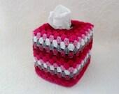 Crochet tissue box cover kleenex tissue box cozy