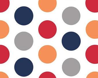 04346 - Riley Blake Large Dots C370-02 Boy color - 1 yard