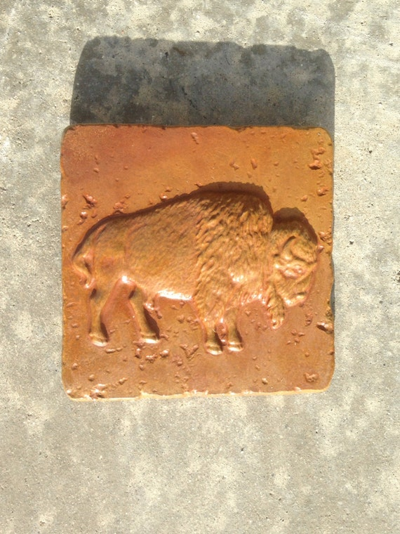 Concrete Buffalo 6x6 Accent Stained Tile