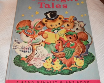 Twilight Tales by Twilight Tales by Miriam Clark Potter Rand McNally Giant Bookr Rand McNally Giant Book Vintage