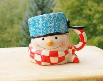 Mitford Snowman Mug
