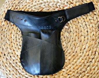 MARcPOS ONE innertube / inner tube rubber sling/ hip holster bag   Festival Bag   Utility Pocket Belt   Fanny Pack   Industrial Burning Man