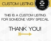 Custom Listing for - Tina Starnes (Reflected Memories Photography)