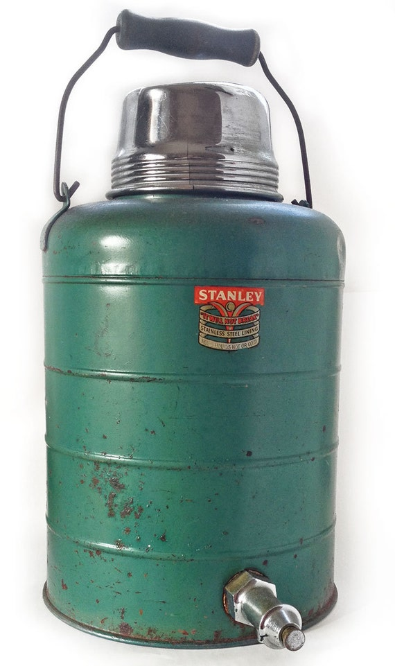 Vintage Collectible Stanley One Gallon Thermos Cooler Jug W