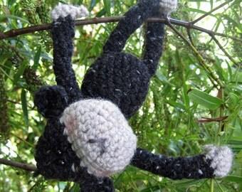 Crochet Pattern for Charlie Chimp