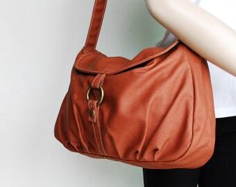 Crossbody Bag, Sale SALE - Waxed Old Army Brown/ Purse / Shoulder bag/ Messenger Bag / School Bag/ Women /For Her/ Gift,  40% OFF