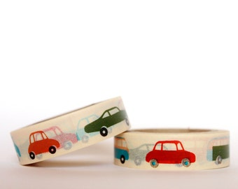 Toy Cars Washi Tape