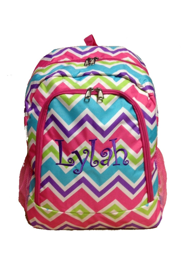 Monogram backpack | Etsy