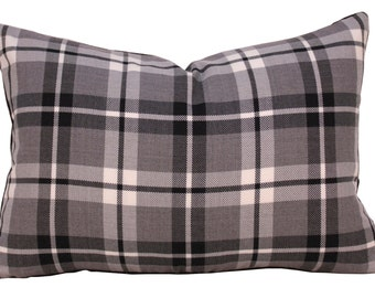 Designer Pillow - Plaid Pillow - Throw Pillow - Decorative Pillow