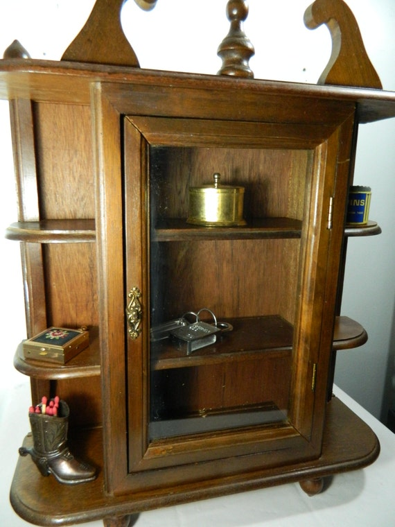 small curio cabinet vintage wood curio shelf small curio cabinet 26334