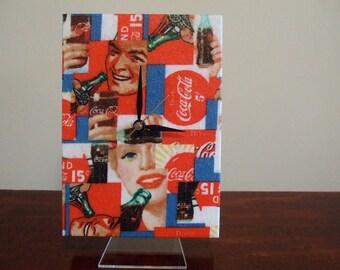 Coca-Cola Desktop Clock - Now 35% OFF