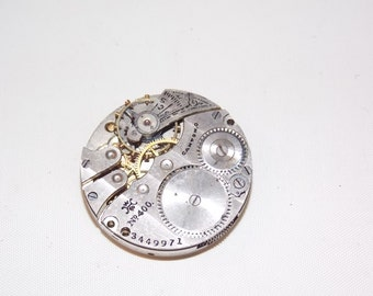 Antique 26mm Jeweled Pocket Watch Movement