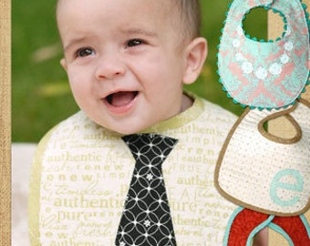 Little Bitty Baby Bib Sewing Pattern by Thimble Blossoms